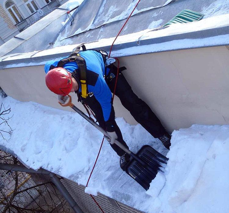 безопасное снаряжение для работы на крыше