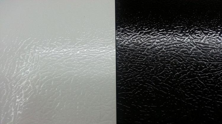 пластизол белый и черный