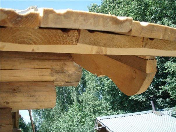 правильная укладка доски на крышу