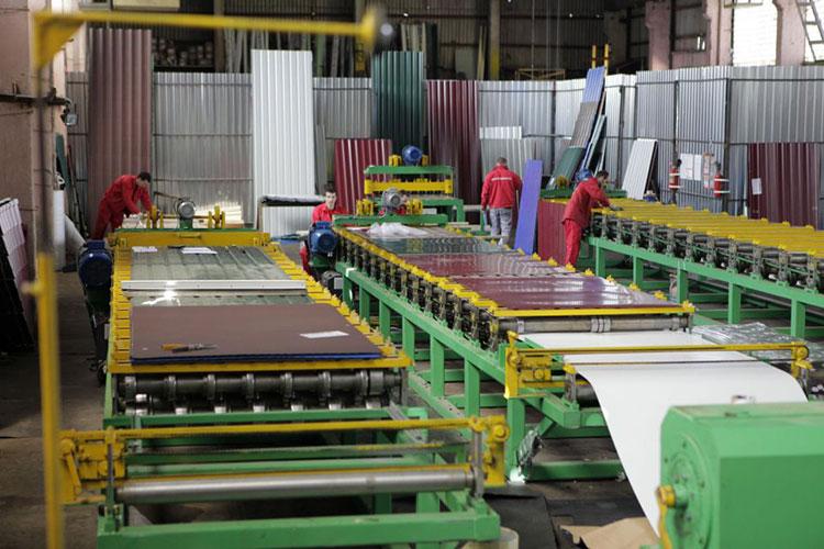 производство металлочерепицы и металлопрофиля