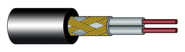 строение резистивного кабеля