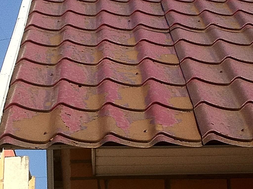 Ржавая крыша