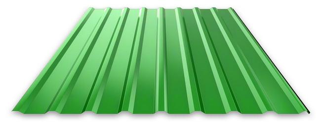 Зеленый профлист